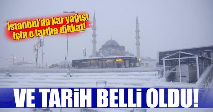Meteorolojiden son dakika hava durumu uyarısı! İstanbul'a o gün kar geliyor...