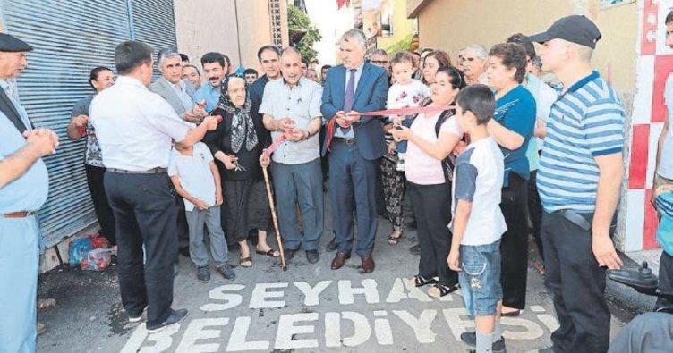 Seyhan'da oluklu asfalt dönemi başladı