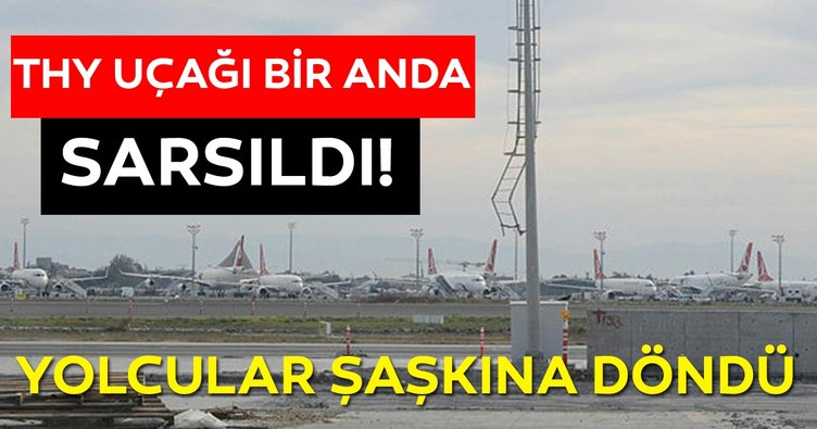 Türk Hava Yolları uçağı elektrik direğine çarptı! İşte detaylar...