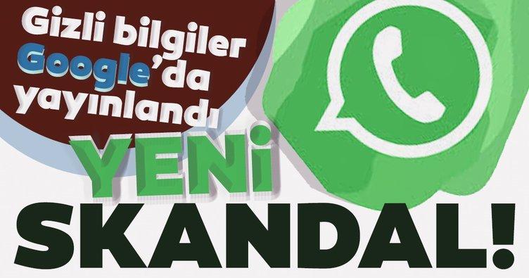 Son dakika haberi: WhatsApp'ta skandal üstüne skandal! Kullanıcı verileri Google arama sonuçlarında ortaya çıktı