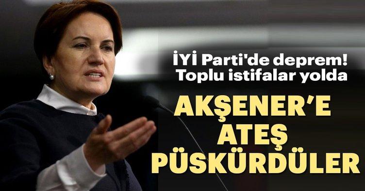 İYİ Parti'de deprem! Toplu istifalar yolda