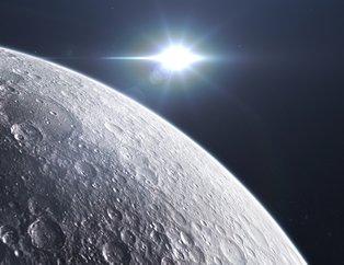 Ay'dan gelen görüntü kan dondurdu! Bilim dünyası açıklama yapamıyor
