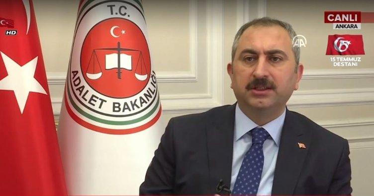 Adalet Bakanı Gül'den ilk açıklamalar