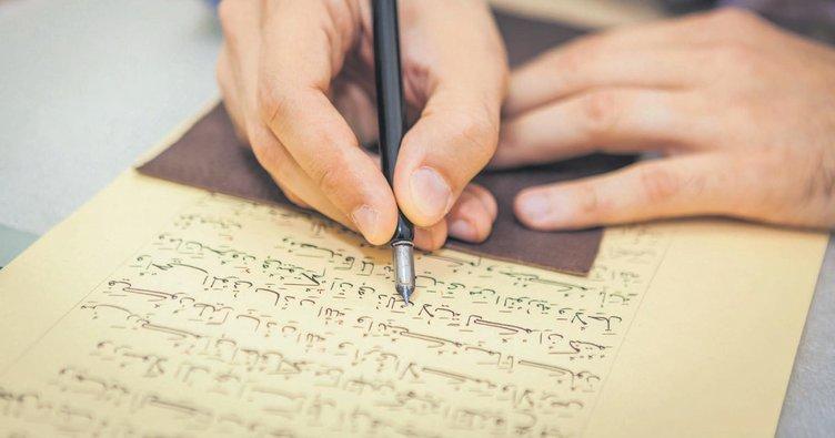 Her Hattatin Hayali Kur An I Kerim I Yazmaktir Ramazan Haberleri