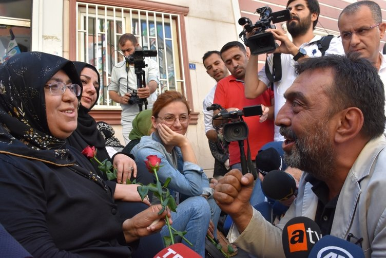 HDP önünde eylem yapan aile sayısı 7. günde 17'ye yükseldi