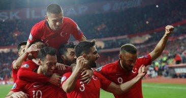 Türkiye - Moldova maçından kareler