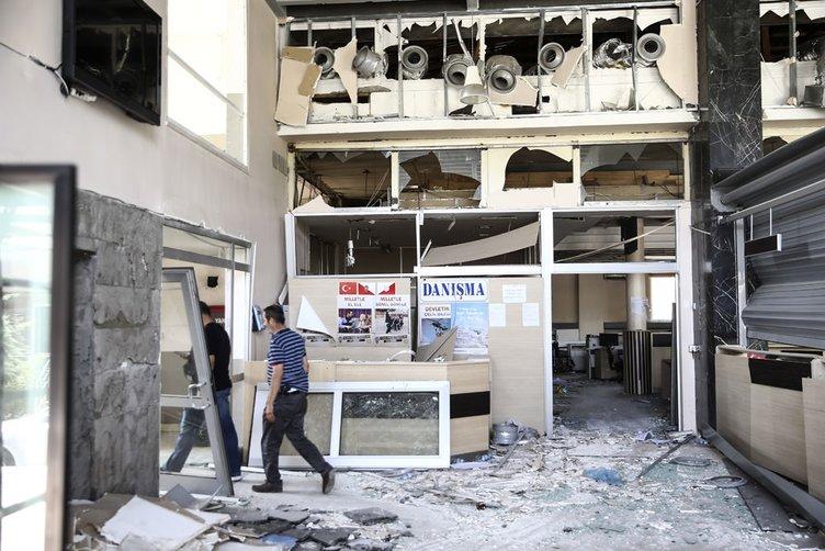 Hainler Ankara Emniyet Müdürlüğü'nü bu hale getirdi