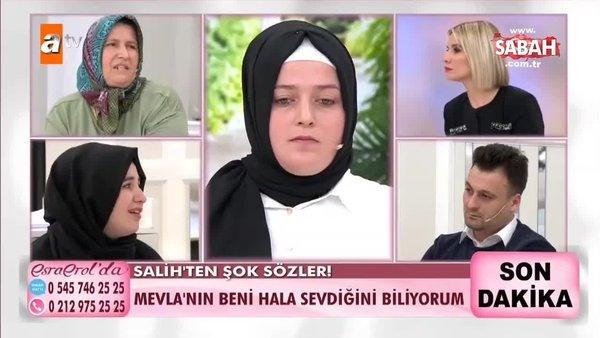 Esra Erol'un programında flaş gelişme! Mevla Salih'i affedecek mi? | Video