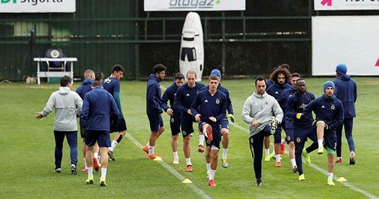 Fenerbahçe Zenit maçına hazırlanıyor