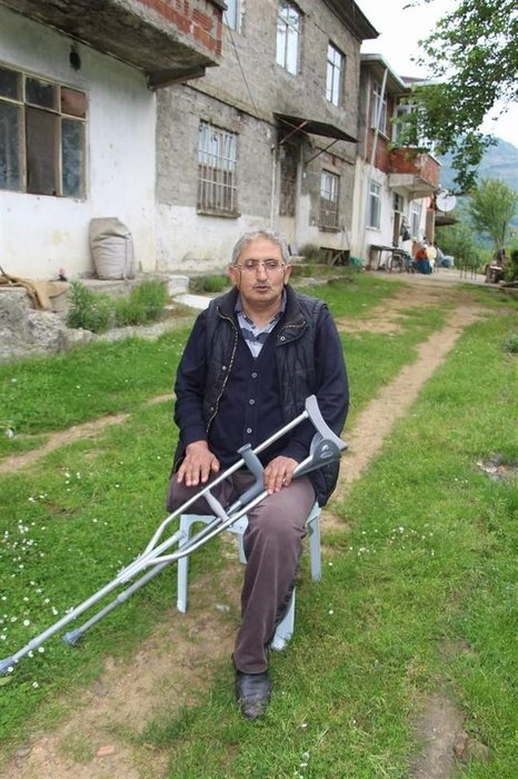 Trabzon'da malulen emekli olmak isteyen adama çalışabilir raporu