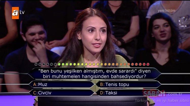 İşte Kim Milyoner Olmak İster? 767. Bölüm tüm soru ve cevapları!
