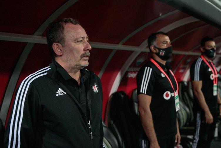 Beşiktaş'ta son dakika: Sergen Yalçın'dan flaş karar! 2 yıldız kadro dışı
