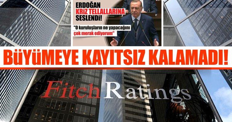 Fitch Ratings Türkiye için büyüme tahminlerini yükseltti