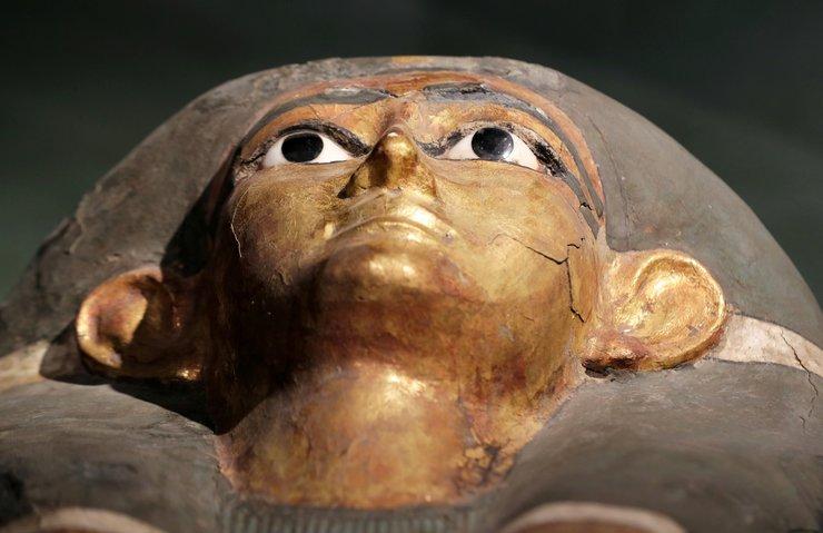 MISIR'DA İLK KEZ CANLI YAYINDA MUMYA LAHİTİ AÇILDI!