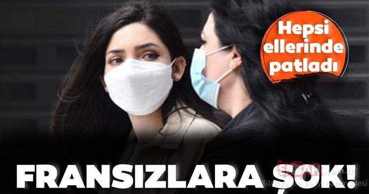 Fransız şirketlere Corona virüs maskesi şoku! Ürettikleri milyonlarca maske ellerinde kaldı