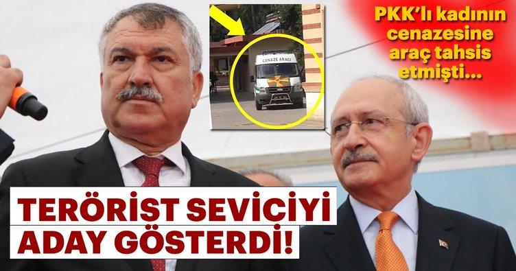 PKK cenazesine araç tahsis eden başkan CHP'den aday!