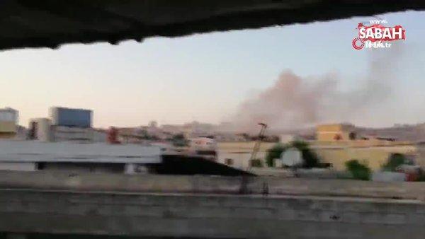Esad rejimi İdlib'in batısını vurdu: 4 yaralı | Video