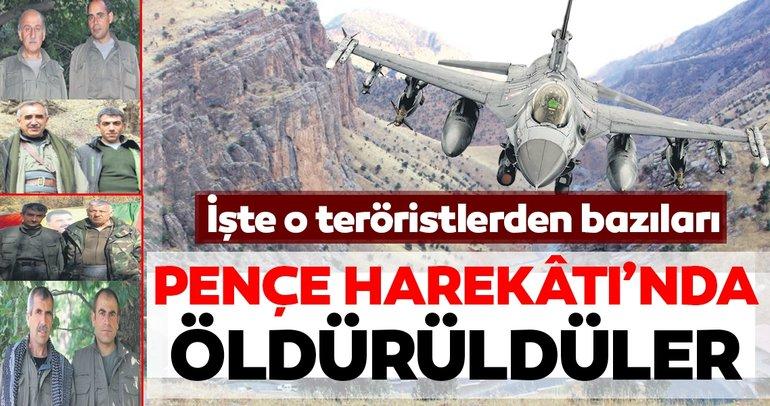 PKK elebaşıları ile ölüm pozu