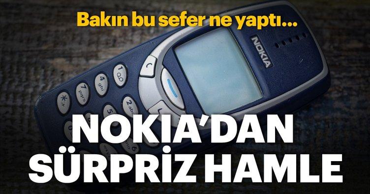 Nokia yeni bombayı patlattı