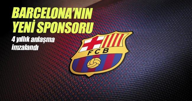 Barcelona'nın yeni sponsoru Rakuten