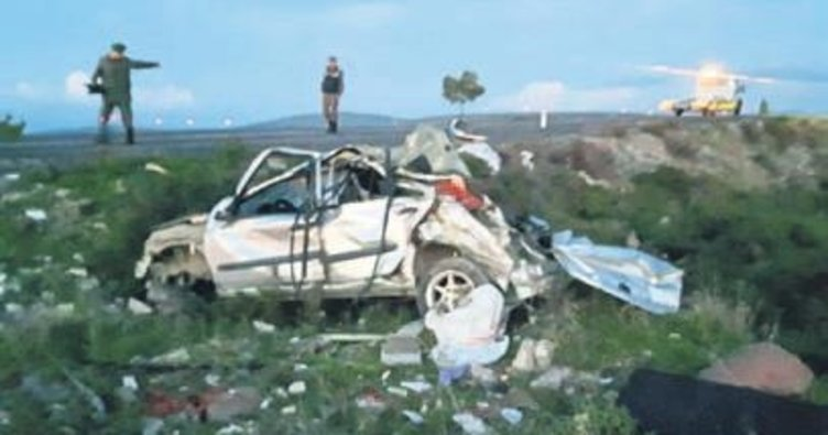 Çeşme'de trafik kazası: 1 ölü