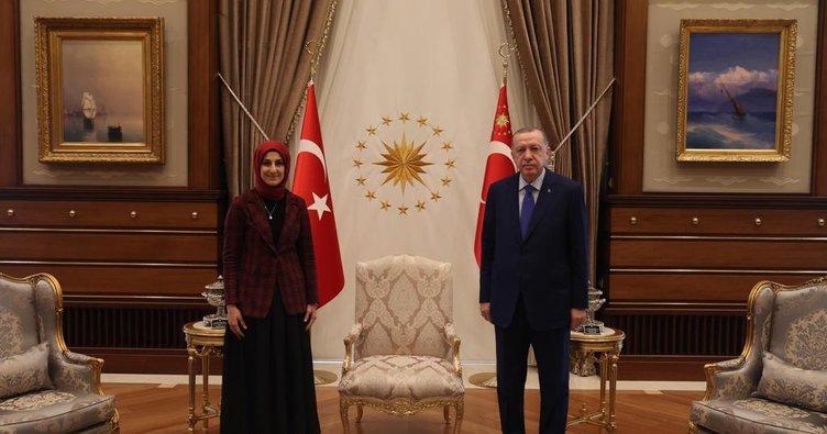 Başkan Erdoğan, Külliye'de Şanlıurfa heyetini kabul etti