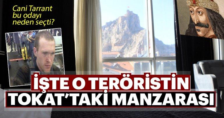 Terörist Tarrant, kale manzaralı odada kalmış
