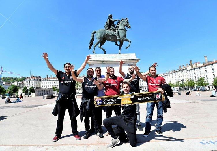 Lyon'dan Beşiktaş manzaraları