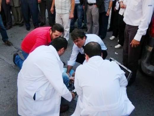 Karaköy'de dehşet