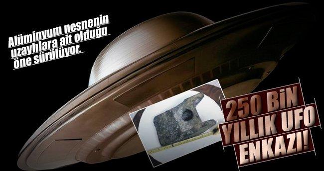 250 bin yıllık UFO enkazı!