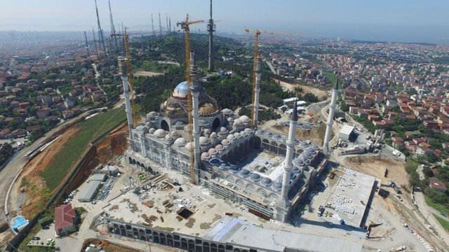 Çamlıca Camisi'nin son hali
