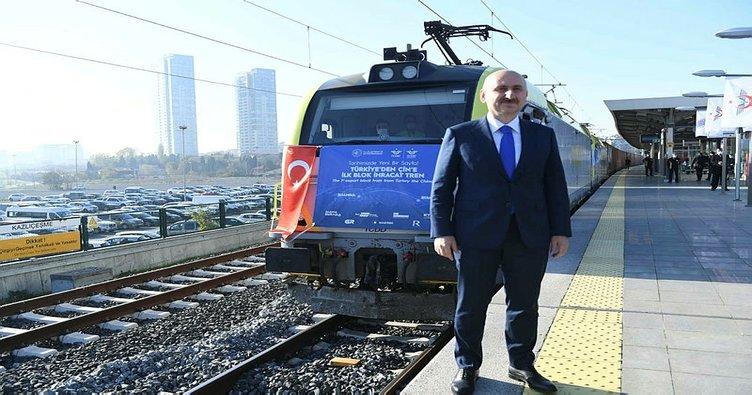 Bakan Karaismailoğlu: Asya ve Avrupa arasında demiryolu yük taşımacılığı alanında yeni bir çağ başladı