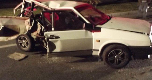Aydın'da feci kaza: 1 ölü, 2 yaralı