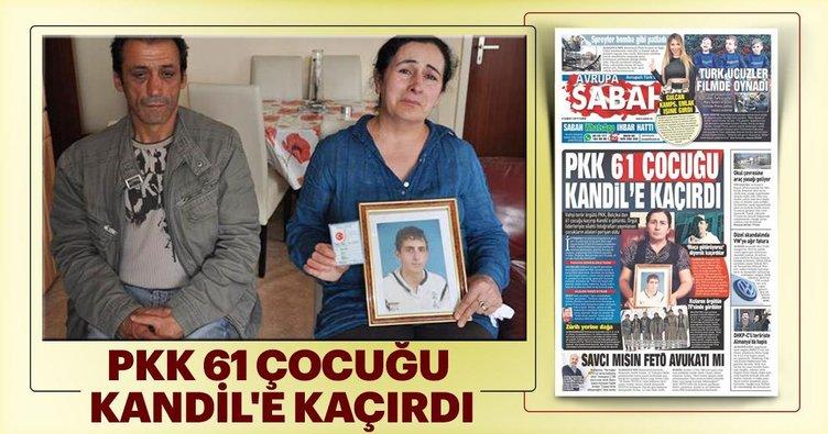PKK 61 çocuğu Kandil'e kaçırdı