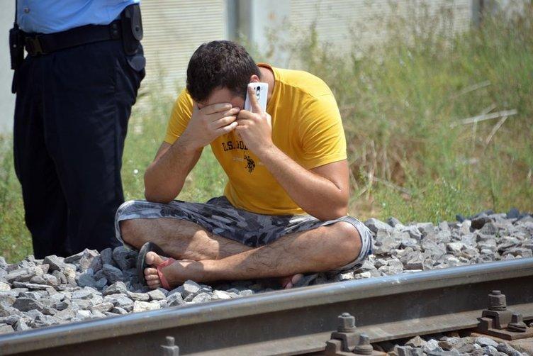 Annesini ararken trenin altında cesedini buldu