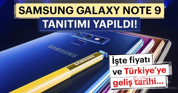 Samsung Galaxy Note 9 tanıtımı yapıldı! - İşte Samsung Galaxy Note 9'un çıkış tarihi ve Türkiye fiyatı...