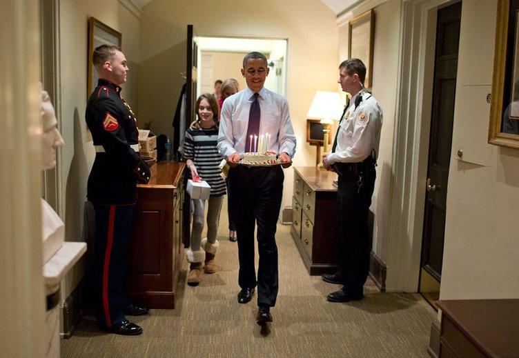 Beyaz Saray'dan 2013'ün en iyi fotoğrafları
