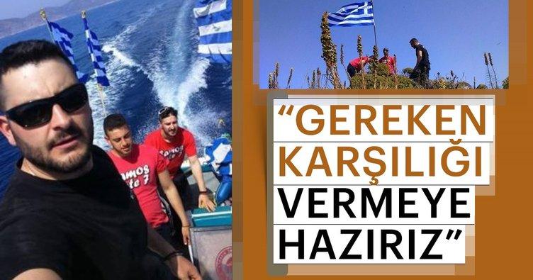 Başbakan Yıldırım: Didim açıklarında kayalıklara bir Yunan bayrağı dikme girişimi oldu