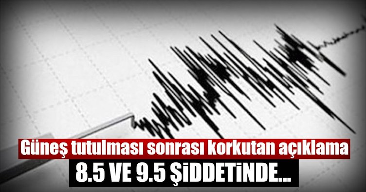 Abdden Izlenebilen Güneş Tutulması Depremi Tetikleyecek En Son