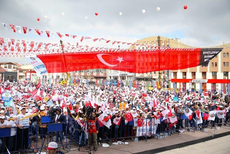 Sakarya'da 1 Mayıs kutlamaları