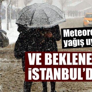 Meteoroloji'den son dakika şiddetli yağış ve hava durumu uyarısı! İstanbul'da kar yağışı başlıyor!