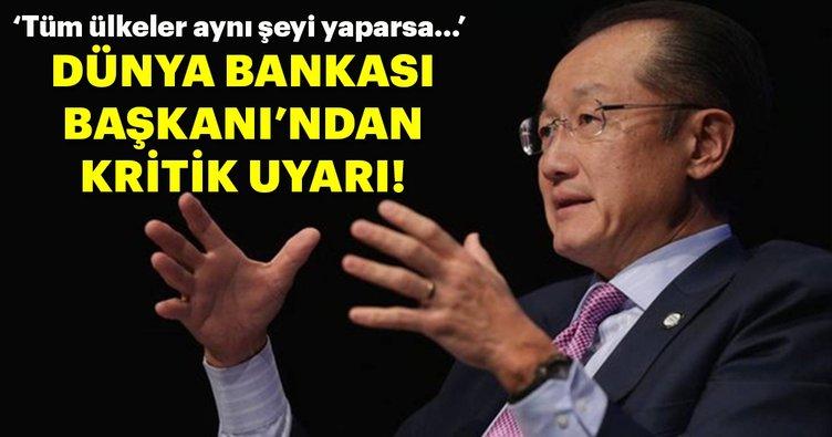 Dünya Bankası Başkanı'ndan önemli uyarı!