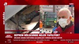 Kızılay Başkanı Kerem Kınık'tan canlı yayında İzmir'de deprem bölgesindeki çalışmalarla ilgili önemli açıklamalar | Video
