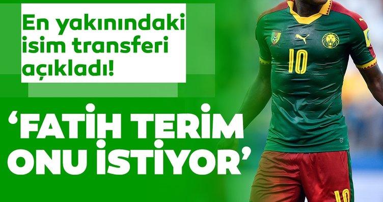 Galatasaray transfer haberleri: Fatih Terim, Aboubakar'ı istiyor