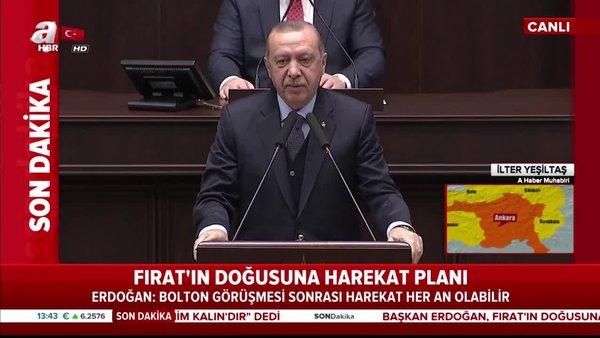 Cumhurbaşkanı Erdoğan'dan ABD'li Bolton açıklaması!