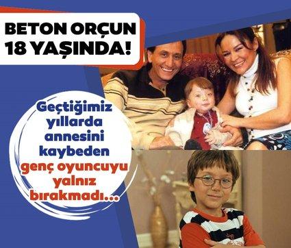 Çocuklar Duymasın'ın Beton Orçun'u Alp Eren Khamis 18 yaşında! Çocuklar Duymasın'ın Orçun'unu bir de şimdi görün...