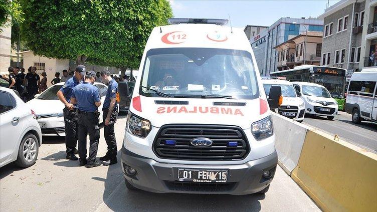 Adana'da terör saldırısı! Polis otobüsünün geçişi sırasında bombalı saldırı düzenlendi...