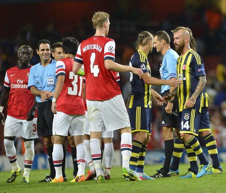 Arsenal - Fenerbahçe maçı Twitter'ı salladı