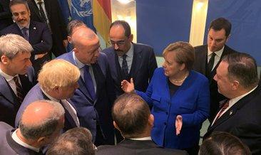 Erdoğan, Libya Zirvesi'ne verilen arada liderlerle görüştü