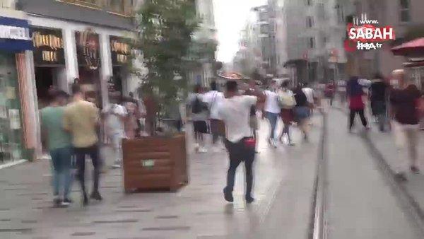 Dilencinin 'Oscarlık' duygu sömürüsü performansı polise takıldı | Video